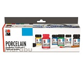 Porcelain-Farbenset 6x15ml