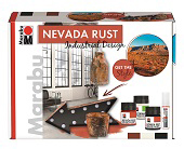 Súprava NEVADA RUST-Industrial Design