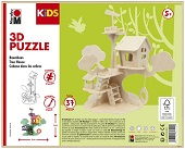 3D Puzzle Tree House
